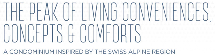 Swiss Alps Concept Condo